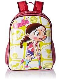 Chhota Bheem Nylon Dark Pink School Bag (GGSCB-CB12A)