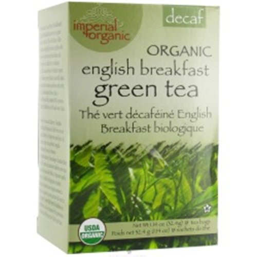 Uncle Lee'S Imperial Organic Tea - Green Breakfast Decaf, 18-Count (Pack Of 4)