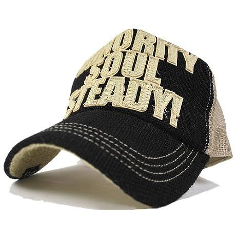(ビッグワッチ)BIGWATCH ヘンプガレージCAP BIGWATCH ブラック/ベージュ CPH-01  大きいサイズ 帽子