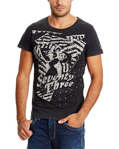 Pepe Jeans London T-Shirt Orbits dunkelgrau