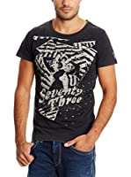 Pepe Jeans London Camiseta Manga Corta Orbits (Gris Oscuro)