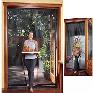 French door magnetic screen reversible 72 for French door magnetic screen