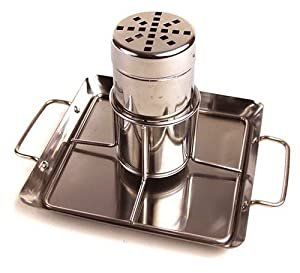 Steven Raichlen Best of Barbecue Beer-Can Chicken Rack with Drip Pan (Stainless Steel) - SR8016