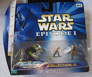 Star Wars Episode 1 Micro Machines Collection III