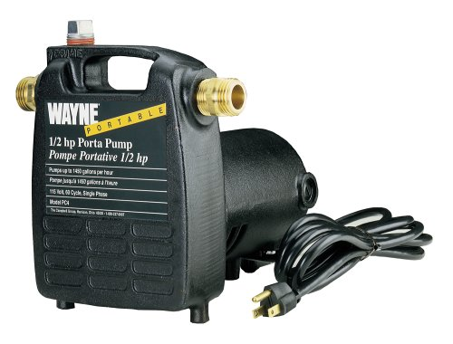 Wayne Pc4 1/2 Hp 115-Volt Transfer Water Pump, Cast Iron