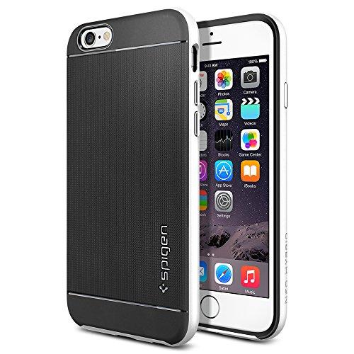 iPhone 6 ケース, Spigen® [ 二重構造 スリム フィット ] Apple iPhone 4.7 (2014) ネオ・ハイブリッド The New iPhone アイフォン6 (国内正規品) (インフィニティ・ホワイト SGP11036)