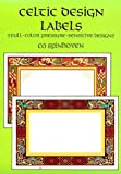 img - for Celtic Design Labels: 8 Full-Color Pressure-Sensitive Designs (Press-On Labels--Pocket-Size Collections) book / textbook / text book