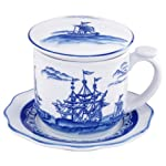Blue Export Covered Mug