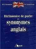 Dictionnaire de poche des synonymes anglais