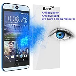 iLee Anti Radiation Eye Care Premium TEMPERED Glass Screen Protector For HTC Desire Eye