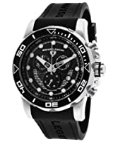 Swiss Legend Men's 21368-01 Avalanche Analog Display Swiss Quartz Black Watch by Swiss Legend