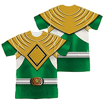 Power Rangers Green Ranger Uniform All Over Print Front / Back T-Shirt