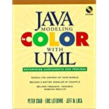 Java Modeling In Color With UML: Enterprise Components and Process ~ Peter Coad