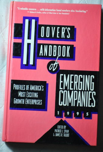 Hoover'S Handbook Of Emerging Companies 1995/Profiles Of America'S Most Exciting Growth Enterprises front-423585