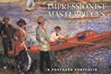 Impressionist Masterpieces in American Museums Paper (Postcard Portfolio)