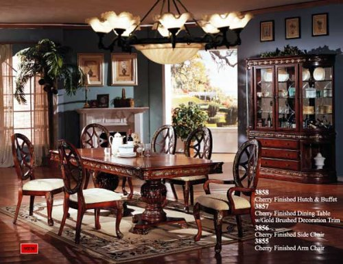 Buy Low Price Cost U Less Furniture Antique Cherry Hutch