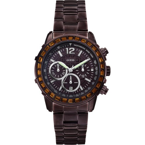 Guess W0016L4 Ladies LADY B Chronograph Bronze Watch