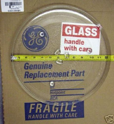 GE Microwave Glass Tray WB39X10003 WB49X10002
