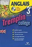 echange, troc Didier Hourquin, Jeanne-France Rattier - Anglais 3e Tremplin collège (1CD audio)