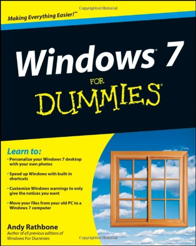 Windows 7 for Dummies Ebook