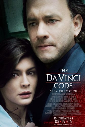 The Davinci Code, Original Double-Sided Movie Theatre Poster, Final Version, 27X40, Tom Hanks front-942502