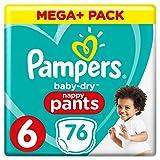 Pampers Baby Dry Pants Gr.6 Extra Large 15+kg Mega Plus Pack