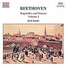 Beethoven: Bagatelles & Danses pour piano (Volume 1)