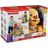Fisher Price Laugh and N Learn Musical Stride to Ride Puppy Shape Sorter Walker