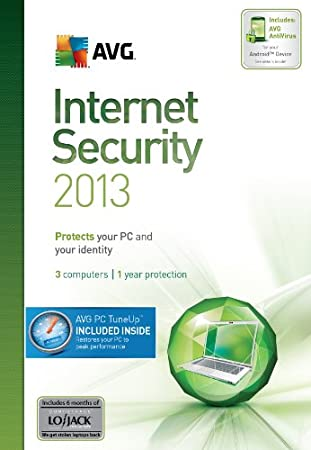 AVG Internet Security + PC TuneUp 2013, 3-User 1-Year  [Download]