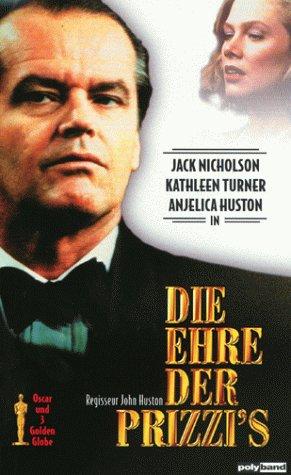 Die Ehre der Prizzis [VHS]