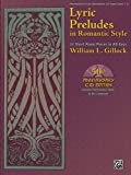 Lyric Preludes In Romantic Style - 24 Short Piano Pieces In All Keys Book & CD