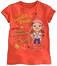 Disney Store Jake And The Never Land Pirates Izzy T Shirt Tee Girl S 56