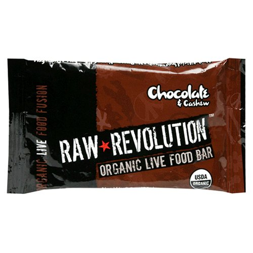 Buy Raw Revolution Organic Live Food Bars, Chocolate & Cashew, 2.2-Ounce Bars (Pack of 12) (Raw Indulgence, Health & Personal Care, Products, Food & Snacks, Breakfast Foods)