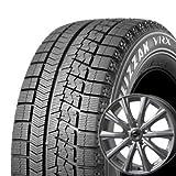 【適合車種:トヨタ エスティマ(50系 2WD)2006~】 BRIDGESTONE ブリザック VRX 215/55R17 スタッドレスタイヤ ホイールセット 一台分4本セット アルミホイール:AXEL アクセル フォー_シルバー 7.0-17 5/114 (17インチ スタッドレスタイヤホイールセット)
