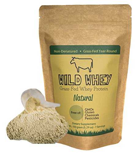 Grass-fed Whey Protein, Wild Whey Non-Denatured Native Protein Concentrate Made From Grass-Fed