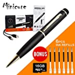 MINICUTE Hidden Camera Pen - FREE 16G...