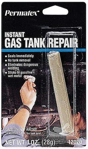 Permatex 12020 Instant Gas Tank Repair, 1 oz. stick (Fuel Tank Putty compare prices)