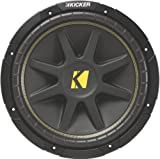 Kicker 10C124 Comp 12-Inch Subwoofer 4 SVC (Black)