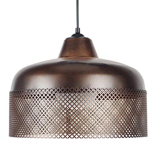 tosel-15547-trog-guaina-lampada-a-sospensione-in-lamiera-di-acciaio-perforata-pittura-in-bronzo-epos