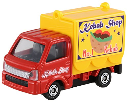 No.57 Suzuki Carry movement sale car Tomica (box) - 1