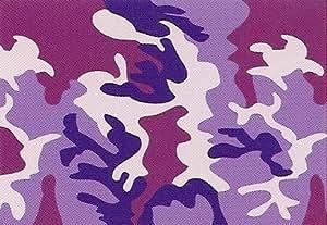 Purple Camo ~ Edible Image Cake, Cupcake Topper!!!
