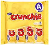 Cadbury Crunchie 4 Bars (Pack of 5, Total 20 Bars)