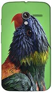 Timpax protective Armor Hard Bumper Back Case Cover. Multicolor printed on 3 Dimensional case with latest & finest graphic design art. Compatible with Motorola Moto -X-1 (1st Gen )Design No : TDZ-25975