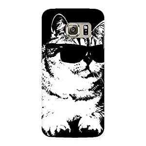 Enticing Thug Cat Back Case Cover for Samsung Galaxy S6 Edge Plus