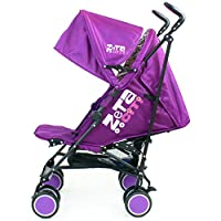 Zeta Citi Stroller Buggy Pushchair - Plum by Baby Travel