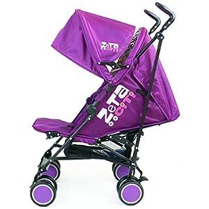 Zeta Citi Stroller Buggy Pushchair - Plum