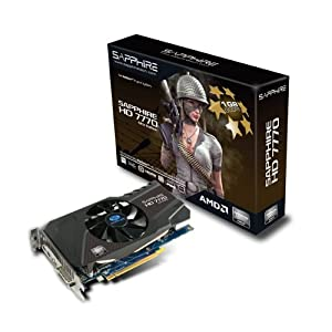 Sapphire Radeon HD 7770 GHZ 1 GB DDR5 HDMI/DVI-I/DP PCI-Express Graphics Card 11201-17-20G