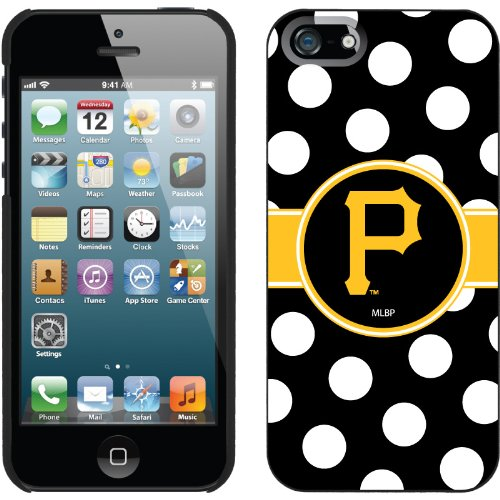 Great Sale Pittsburgh Pirates - Polka Dots design on a Black iPhone 5 Thinshield Snap-On Case by Coveroo