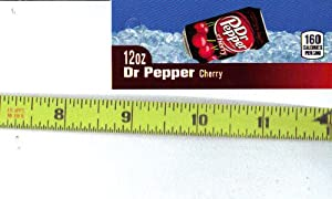 Magnum, Small Rectangle Size Doctor Dr. Pepper Cherry CAN Soda Vending