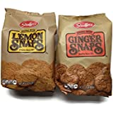Stauffer's 2-pack Snaps Cookies Variety: Ginger Snaps & Lemon Snaps, 14 Oz. Bags [1 of Each]